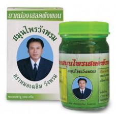 Зеленый тайский  бальзам Wangprom