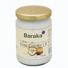 Кокосовое масло  Baraka 500 мл, нерафинированное, Шри-Ланка