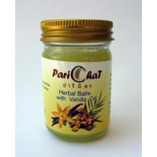 Травяной бальзам  Parichat  с маслом ванили