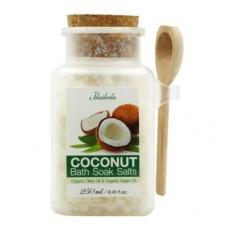 Соль для ванны Praileela Organics Кокос 250 г ,Таиланд