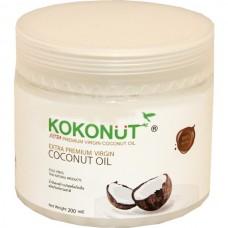 Кокосовое масло Kokonut 200 мл, нерафинированное  Таиланд