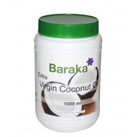 Кокосовое масло BARAKA 1000 мл, нерафинированное Шри-Ланка