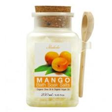 Соль для ванны Praileela Organics Манго 250 мл ,Таиланд