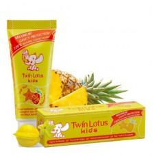 Зубная паста для детей Twin Lotus «Карамбола и Ананас»
