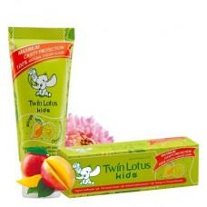 Зубная паста для детей Twin Lotus «Манго и Хризантема»