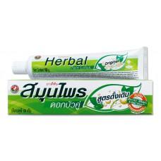 Тайская травяная зубная паста Twin Lotus Herbal Original